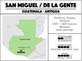 San Miguel / De La Gente - Guatemala. Light roast_