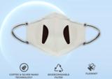 Mondmasker off white_