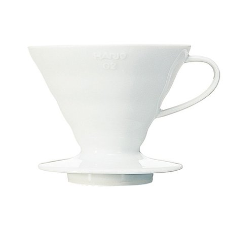 Hario V60-02 Ceramic Coffee Dripper White