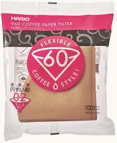 Hario V60-02 100x Filterpapier - Natural