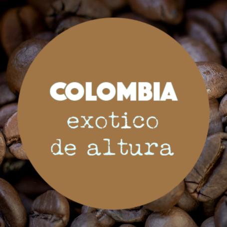 Coffee Shots Colombia - Exótico de Altura / espresso